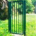 Portillon robusta medium betafence pas cher mr cl tures for Portillon metallique jardin