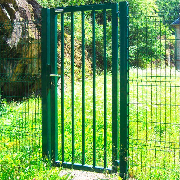 Portillon robusta medium betafence pas cher mr cl tures for Grillage et portillon de jardin